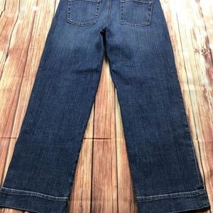 Eileen Fisher Cropped Blue Jeans